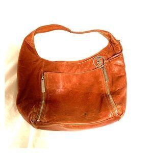 Michael Kors Leather Boho shoulder bag, purse.